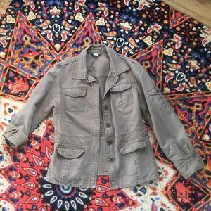 Women's Vintage J. Crew Army Utility Jacket